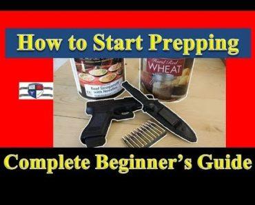 How to Start Prepping – A Beginner Prepper Checklist –  Prepping 101