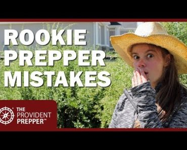 20 Rookie Prepper Mistakes and How to Avoid Them