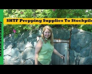 SHTF Prepping Supplies What to Stockpile- Prepper Must Have Items