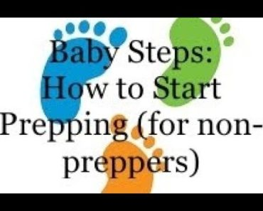 Baby Steps: How to Start Prepping (for non-preppers)