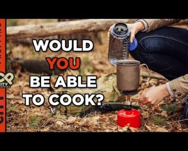 How to cook after a disaster (fuel sources)