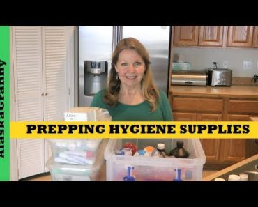 Prepping Personal Toiletries Hygiene Sanitation Items Supplies to Stockpile Preppers