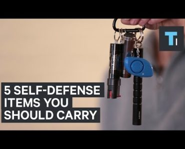 5 Self-Defense Items You Should Carry
