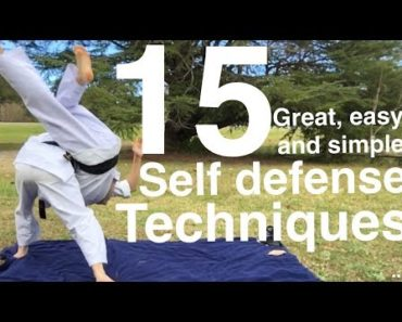 15 Amazing Self Defense Drills and Techniques