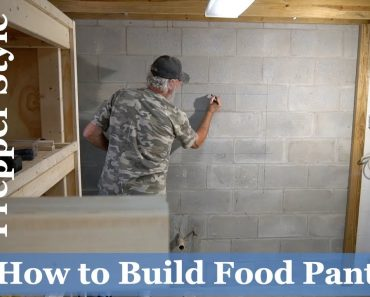 How to Build (4 WEEK) Prepper Style Food Pantry