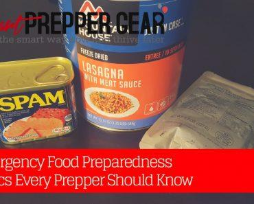 Emergency Food Preparedness Basics Every Prepper Should Know