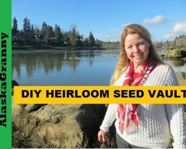 DIY Heirloom Seed Vault for Sustainable Garden- Long Term Seed Storage Prepper Seed Bank