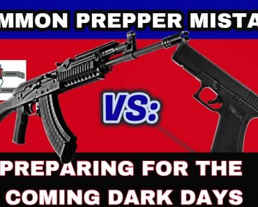 Prepper Security: Fighting Rifle and Life or Death after SHTF