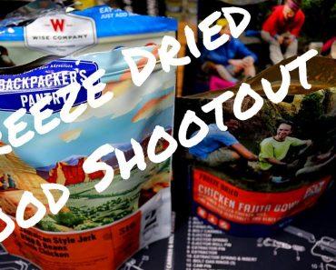 Freeze Dried Prepper Food Shootout!