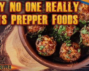 Why No One Actually Eats Prepper Foods