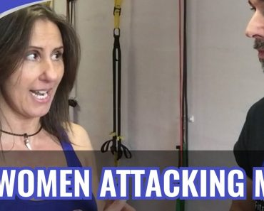 How To Defend AGAINST A WOMAN – SELF DEFENSE FOR MEN [PART 1]