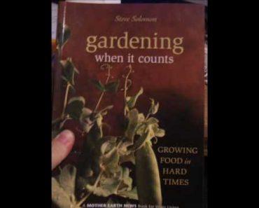 Homesteading Prepper's Library Series:  The Garden part 1