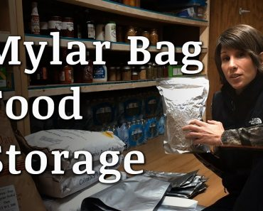 Using Mylar Bags for Food Storage