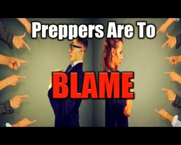 Preppers Are The Problem