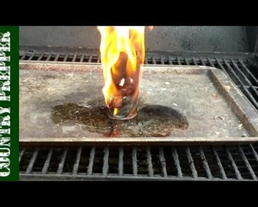 Prepper Survival Tips- Better Lint Tube Tinder DIY Fire Starter
