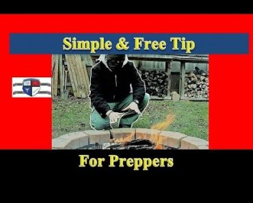Simple Prepper Tip for Free Fire-Starting Fuel