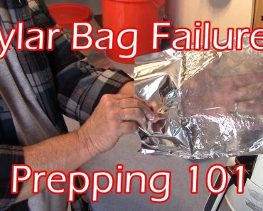 Mylar Bag Failure  —  Prepping 101  —   Long Term Storage