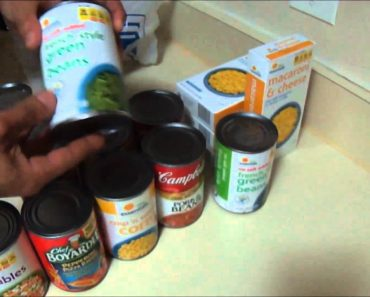 Prepping 101/ Food Storage/ Part 1 – Canned Goods