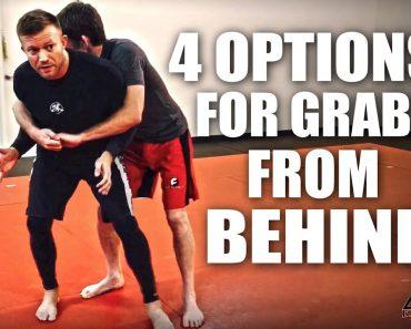 Jiu-Jitsu Self-Defense   4 Options For Grabs From Behind