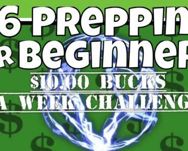 #6 Start Prepping! Preparedness Food Storage | SHTF | Doomsday