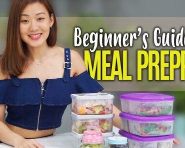 How to Start Meal Prepping (Beginner's Guide) | Joanna Soh
