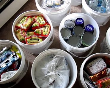 Prepping – Food grade buckets for food & everything else