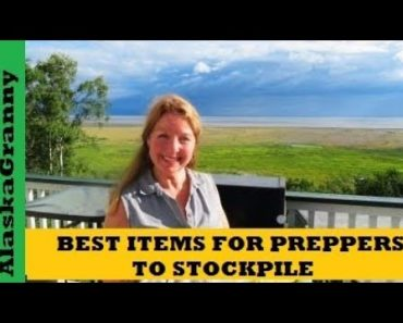 Best Items For Preppers To Stockpile- Prepping Emergency Supplies