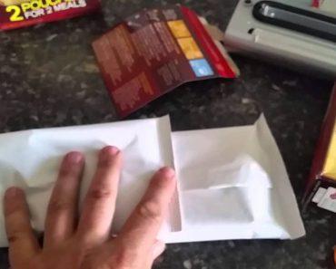 Prepper food storage tip, CHEAP!