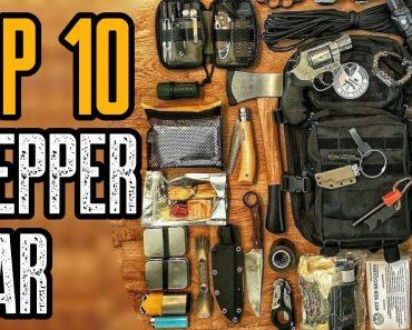 TOP 10 BEST PREPPER GEAR & SURVIVAL ITEMS ON AMAZON