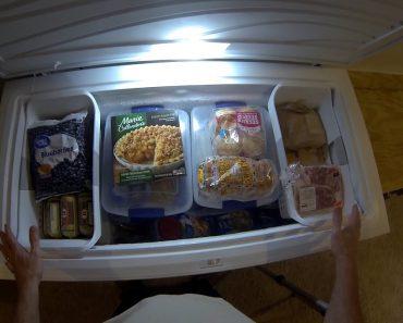 Organizing My Prepper Freezer
