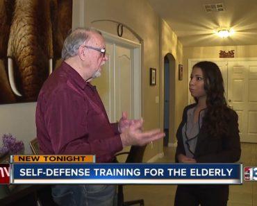 Self-defense tips for senior citizens