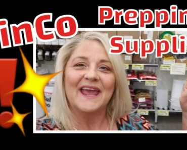 Prepping Supplies | Food Preparedness | Survival Food | Bulk Long Term Food Storage