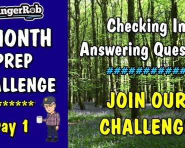 Day 1, One Month Prepper Challenge | Rangerrob Country Living & Lifestyle