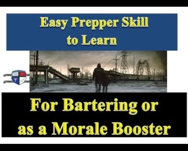 Prepper Skills : An Easy Prepper Skill for Bartering or as a Morale Booster