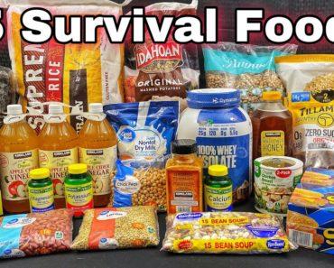 15 Survival Foods Every Prepper Should Stockpile