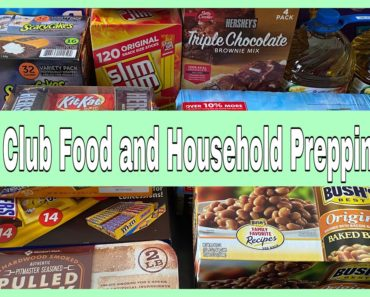 SAM'S CLUB HAUL FOOD AND HOUSEHOLD PREPPING HAUL | PREPPING PANTRY | LARGE FAMILY PREP ADDITIONS