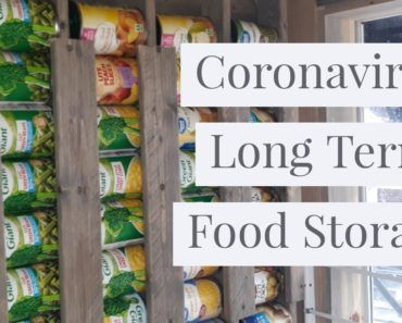 Canned food storage for urban and off grid prepping and planning