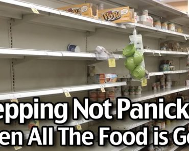 Prepping in Panic! 2 Weeks-4 people-$110!!! What to buy when all the food is gone!