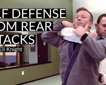 Self Defense From Rear Attacks: Bear Hug, Rear Choke, Grabs