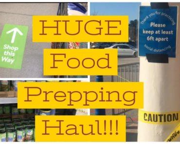 WALMART GROCERY HAUL – Big Family Pantry Prepping – Food Storage