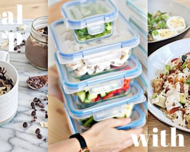 What My Meal Prepping Looks Like | Healthy & Dairy Free