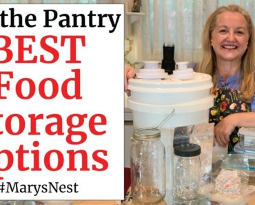 The Best Long Term Food Storage Containers for Your Prepper Pantry – Buckets, Mylar Bags, and More!
