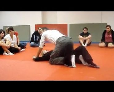 Self-Defense for Women – Escape when Someone is on Top of You