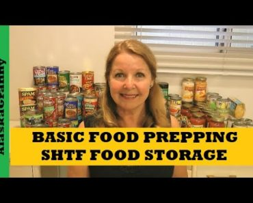 Basic Food Storage SHTF Food Storage Prepping Pandemic Prepping