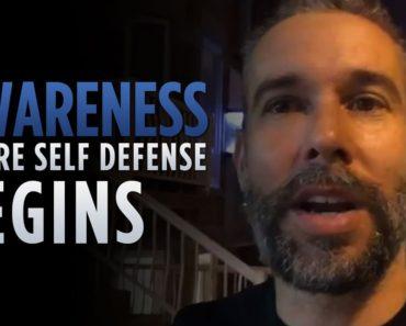 Awareness: Where self defense begins