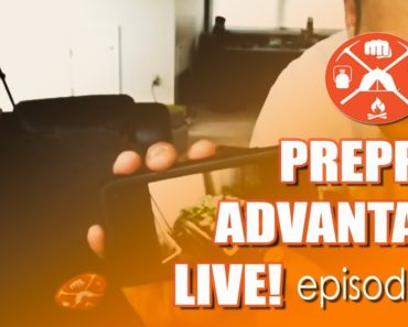 Prepper Advantage LIVE! Episode 4: Save Raccoons – Plant Squash!