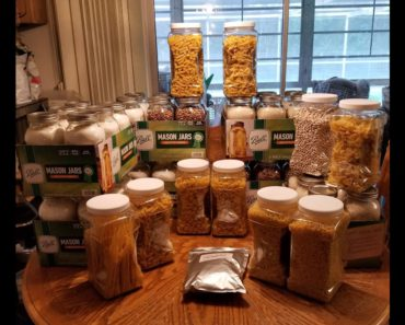 Prepping Preserving Food Storage Pantry preps using oxygen absorbers