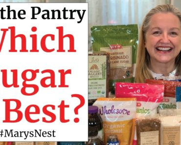 Essential Sugars for Your Prepper Pantry – How They are Different – And Which Are Best for Baking