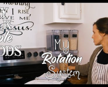 Dry Bulk Staple Foods/ My Rotation System/ Prepping Like grandma