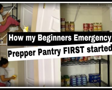 How my Beginners Emergency Prepper Pantry FIRST started | MY PREPPER JOURNEY | New Prepper